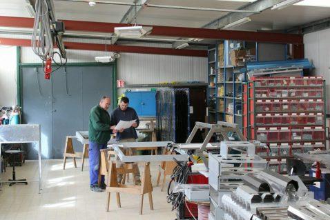 Herschel IR360 Industriewerkstattheizung