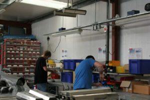 Infrarot-Werkstattheizung von Herschel