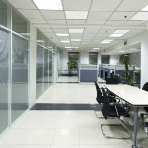 Infrarot-Deckenheizungen für Büros