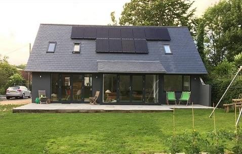 Projekt mit Herschel Infrarotstrahlern renoviert