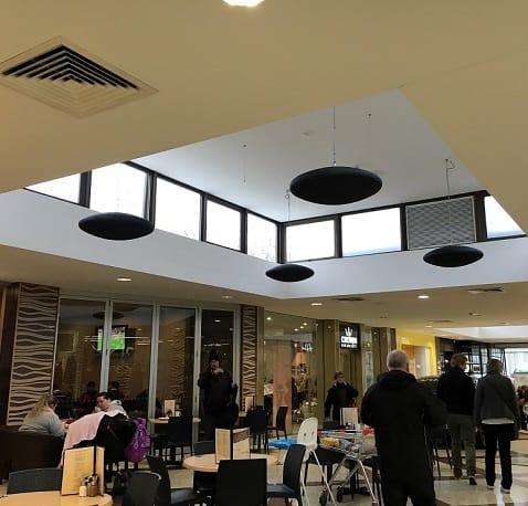 Herschel-Heizungen für Einkaufszentrum ausgewählt