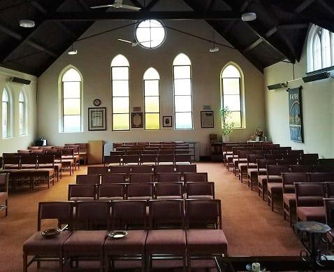 Kirchenheizung Infrastruktur mit Herschel