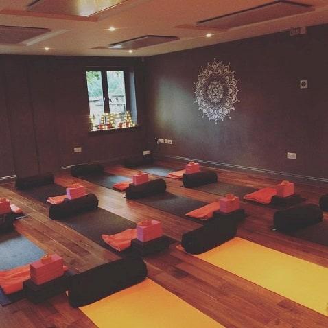 Heizung Yoga-Studios
